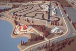 """Концепт-проект """"Экстрим-парк"""". Велодром,автодром"""