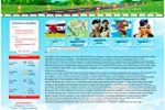 Сайт-визитка частной посадочной площадки