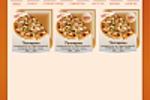Сайт Доставка пиццы