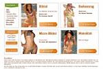 Веб-дизайн для интернет-магазина купальников