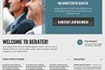 Веб-дизайн для бизнес-консультанта