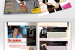 Верстка и дизайн ежемесячного журнала