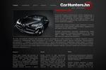 Car Hanters дизайн сайта