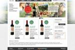 Веб-дизайн для интернет-магазина вина