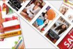 Серия рекламных материалов
