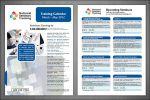 Расписание семинара для National Seminars Training