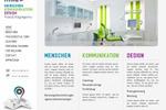 Веб-дизайн для агентства по консалтингу, интерьер-дизайну