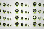 Разработка серии иконок для мобильного приложения в 4-х размерах