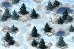 Локация - снежный лес