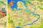 Неформальная карта Питера