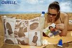 Рекламная фотосъёмка пляжной сумки Quelle