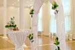 Съёмка свадебного интерьера