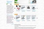 Сайт каталог рекламной компании RDT
