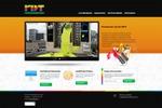 """Сайт """"визитка"""" рекламной группы RDT + каталог"""