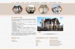 Сайт каталог строительной компании Крепость