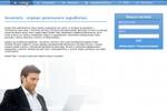 Сайт инвестиционного фонда (главная страница)