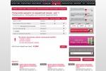 Первый шаг оформления кредитной линии на сайте