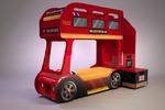Детская кровать английский автобус