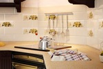 Визуализация рекламного изображения керамической плитки