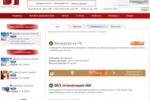 Дизайн портала Best-lance.ru образца 2009 года