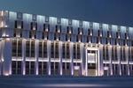3д визуализация подсветки административного здания