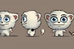 Концепт персонажа для детской игры (для дальнейшей реализации в