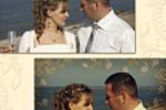 Ретушь свадебного фото, коллаж