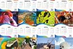 Дизайн страниц настольного календаря