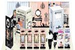 Дизайн стенда для  компании производителя женского белья