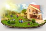 Иллюстрация для строительной компании.