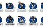 Иконки для сайта по продаже телескопов