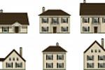 Иконки разных типов домов, 2 вида