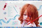Одна из страниц сайта  дизайн-студии Артериум
