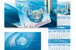Квартальный календарь для Газпром информ