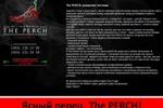 Слоган и рекламный текст к открытию клуба The PERCH