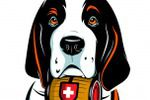 Saintbernard dog character