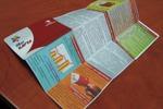 Макет Z-образной листовки