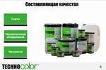 """Презентация для производственной компании """"Technocolor"""""""