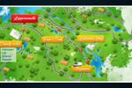 Схема маршрута велопоездки