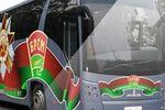 Брендирование автобуса MAЗ