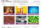 Верстка и JS скрипты для Wein und Wasser