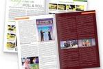 верстка и дизайн журнала А4