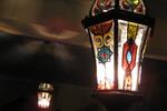 Роспись светильника