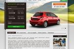 Дизайн сайта проката авто (США-Россия)