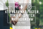 Сео-текст для дуэта свадебных ведущих