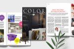 Ежеквартальный журнал для дизайнеров Color Life (Tikkurila)