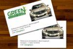 "Визитка ""Green Mobile Wash"""