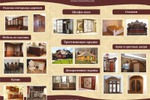 """Буклет для мебельной компании """"Северная корона"""" разворот"""