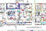 Схема расстановки технологического оборудования