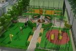 Проект благоустройства дворовой территории